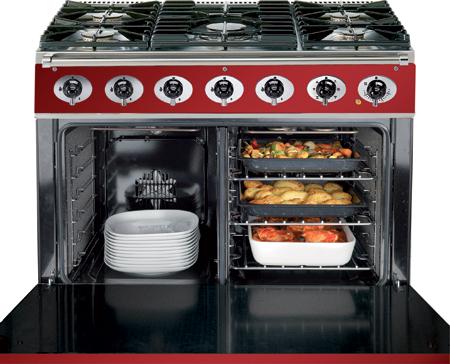 900 single cavity oven, dual fuel