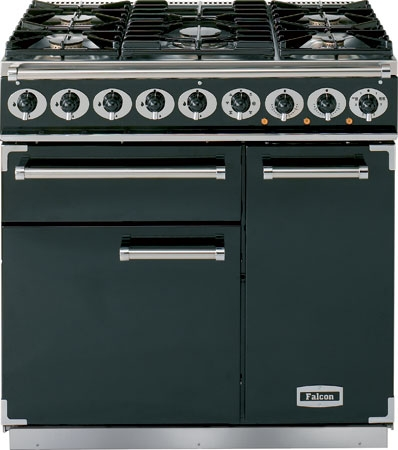 Falcon 900 Deluxe range cooker, 900 mm, Dual fuel
