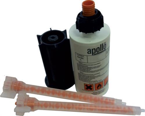 Jet Black Glue 80ml Cartridge for Solid acrylic worktop, black velvet