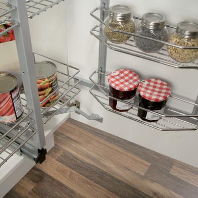 Acrylic insert for Pantry Unit basket 1 set-