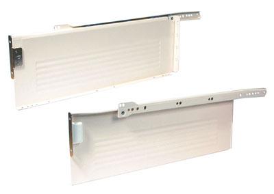 Metal drawer sides, 150 mm high