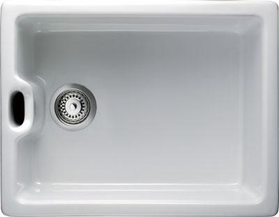 Rangemaster Farmhouse Belfast CFBL595WH single bowl sink