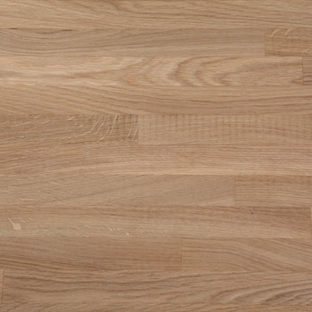 Solid timber worktop, prime oak