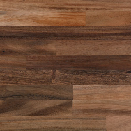 Solid timber worktop, walnut