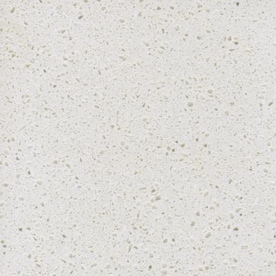 Solid acrylic worktop, polar white