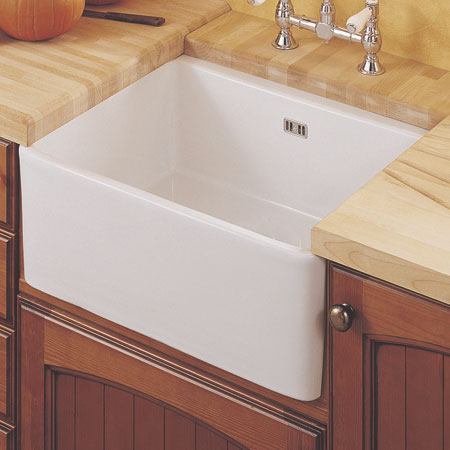 Belfast Sink 595x475mm White 565 64 740