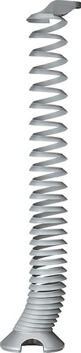 Vertical cable management, spiral design