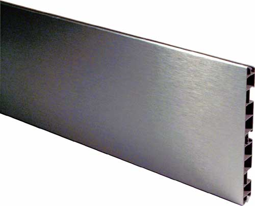 Kitchen Plinth panel Stainless Steel coated