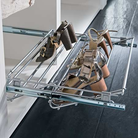Pull Out Shoe Rack Width Adjustable 805 81 280
