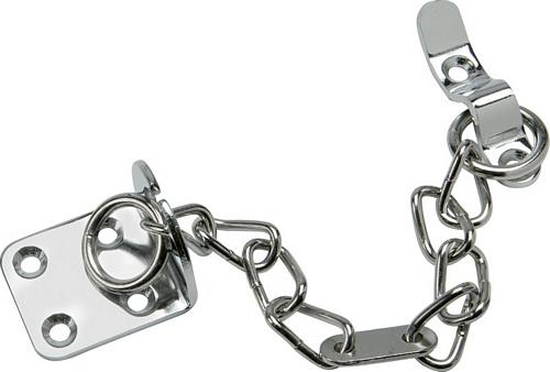 Door chain, brass