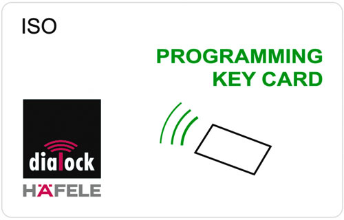 Programming key card