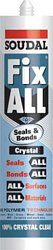 Fix All crystal seals and bonds sealant and adhesive