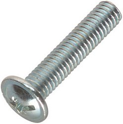 Flat head bolt M6 x 28 mm