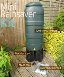 100L Mini Rainsaver Water Butt Kit