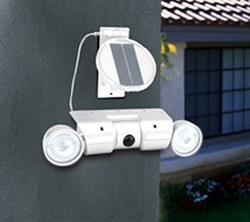 Sunsei Solar Security Light with Motion Sensor