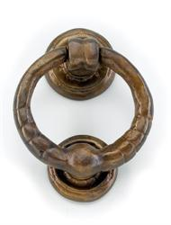 Louis Fraser 215 Round Door Knocker