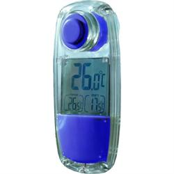PowerPlus Parrot Indoor/Outdoor LCD Solar Thermometer