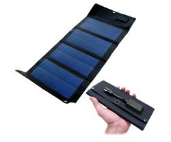 6.5watt Powertec Folding Solar Charger