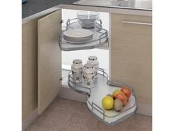 Nuvola Corner Pull Out Shelving unit