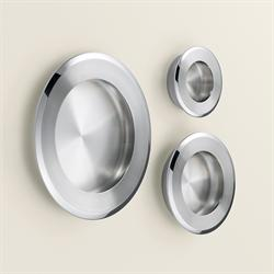 Recessed Pull in 316 Stainless Steel