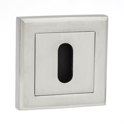 Square Rose Key Escutcheon
