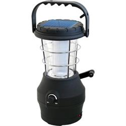 Power Plus Hippo 24 LED Solar & Wind Up Lantern