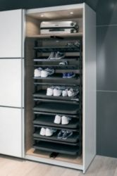 Pull Out Shoe Rack For Tall Cabinets
