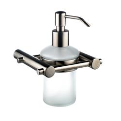 Satin Stainless Steel Soap Dispenser