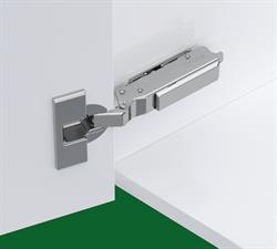 Tiomos concealed soft close hinge & Plate set (single 348.36.821)
