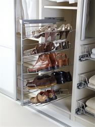 Pull Out Shoe Rack 5 Tier with Soft Close
