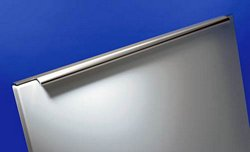 Profile handle, various lengths, polished aluminium