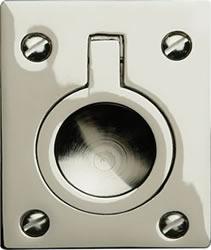 Military flush ring pull