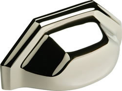 ART DECO cup handle, 90 mm hole centres