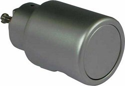 Rotary handles, zinc alloy housing, 32 mm