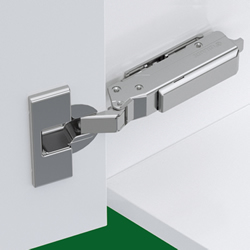 Grass TIOMOS 120deg soft close hinge, Full overlay mounting