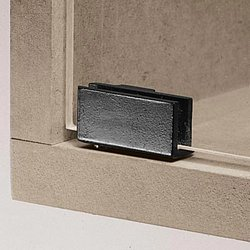 90 degree glass door pivot hinge, for inset doors