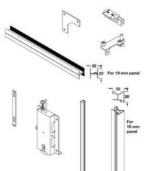 Door Sets, Universal For Internal Or External Panels