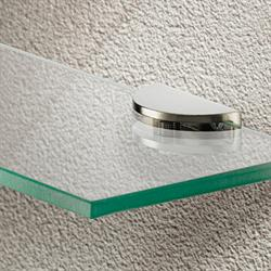 Shelf clamp support with screw fixing