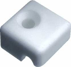 Fastening block for wire surounds