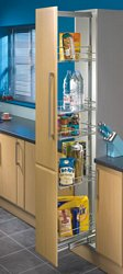 Larder unit, centre mounting, height adjustable (1950-2200 mm), 300 mm cabinet width