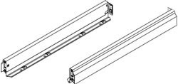 Nova Pro classic drawer sides, 63 mm high, 450 mm length