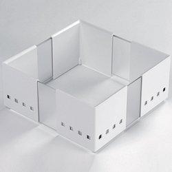 CuisioFLEX drawer insert White, set of 3