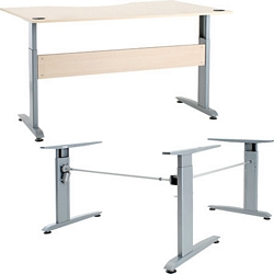 Merveilleux Electric Height Adjustable Desk Frame