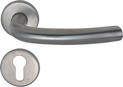 HERAM I 19 mm bow shaped lever handles, unsprung