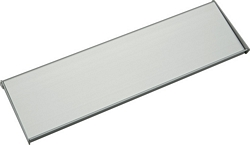 Interior flap, aluminium, 250 x 71 mm