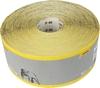 Abrasive rolls, 115 mm wide, yellow aluminium oxide