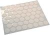 Self adhesive cover caps, polyvinyl,  14 mm