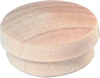 Solid wood cover caps for 15 mm blind holes Pine wood