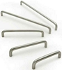 D handle,  64-352 mm hole centres, various lengths, 10 mm
