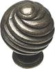 Twister ball knobs,  30 mm